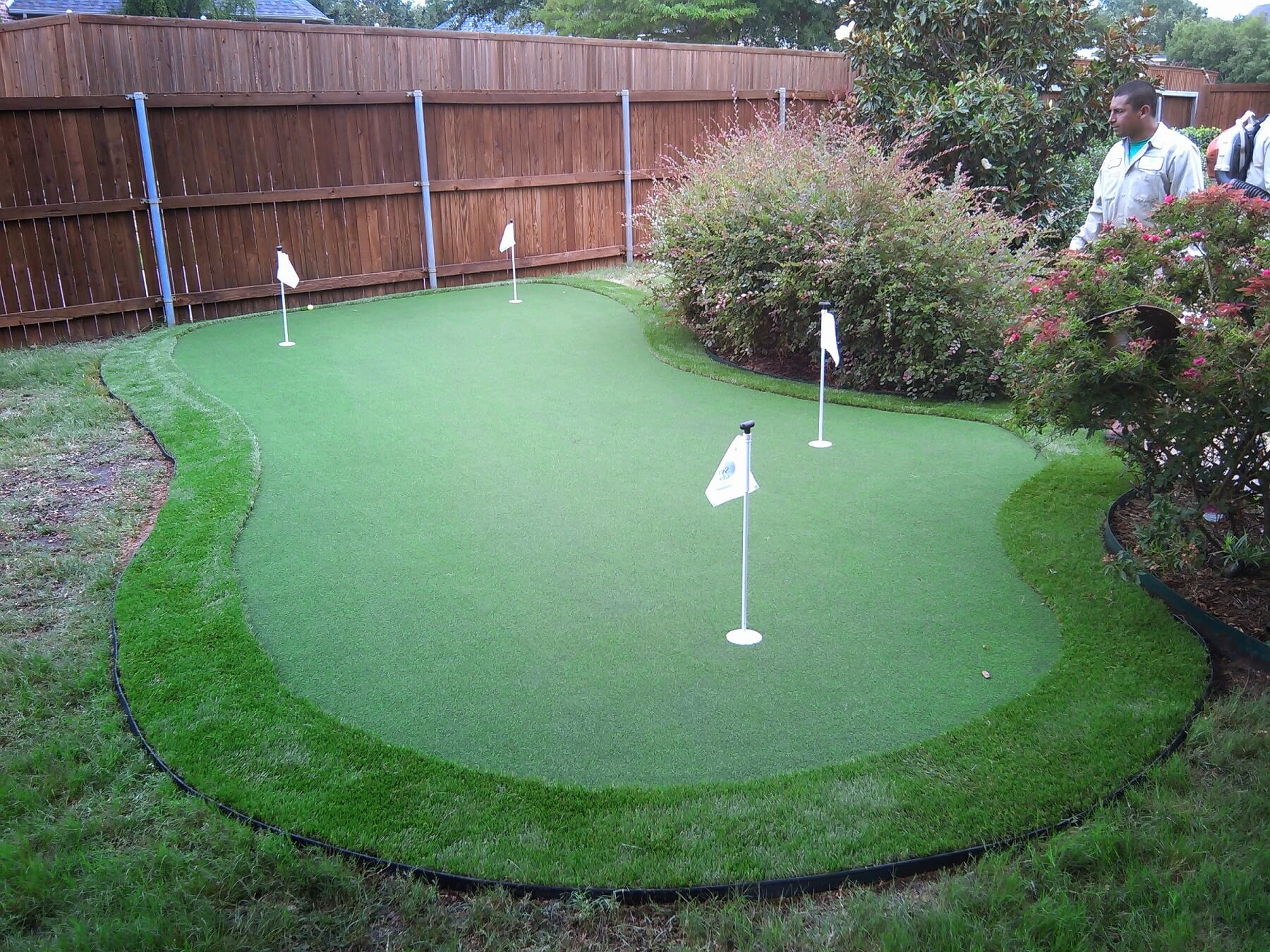 Putting Greens - Plano Fake Grass