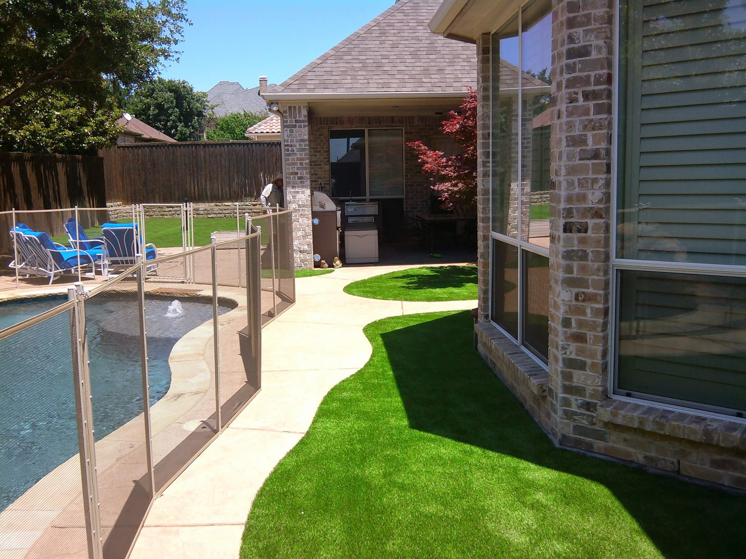 Artificial Lawns - Pearland Fake Grass